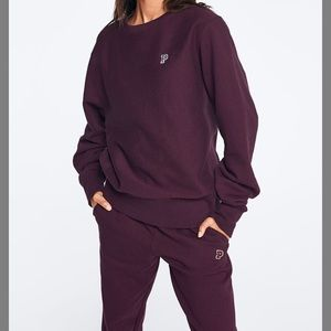 Black sweatsuit set